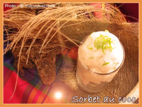 Sorbet-coco
