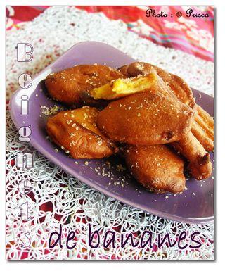 Beignets-de-bananes