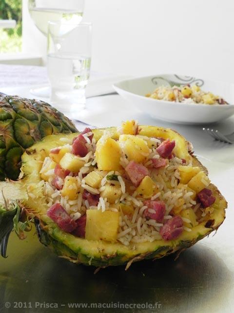 Riz-creole-ananas-jambon-de-noel-1