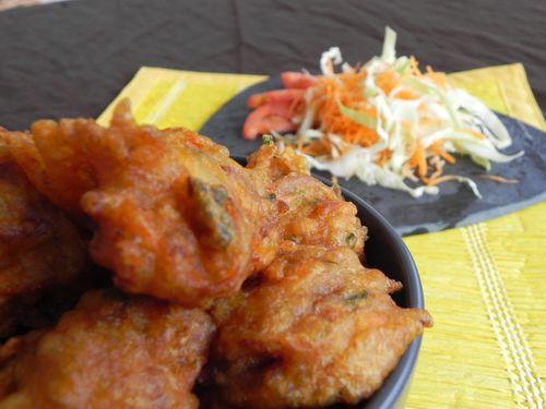 Cuisine antillaise Accras aux légumes